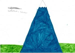 dessin montagne
